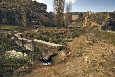 Hoz del río Gritos, Valeria