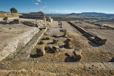 Imagen del enclave Ciudad Romana de Ercávica