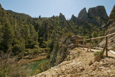 Imagen del enclave Hoces del Cabriel, Minglanilla