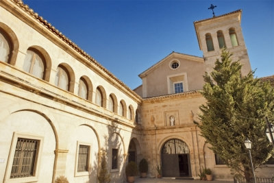 Imagen del enclave Monasterio de Tejeda