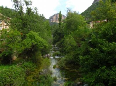 Imagen del enclave Solán de Cabras