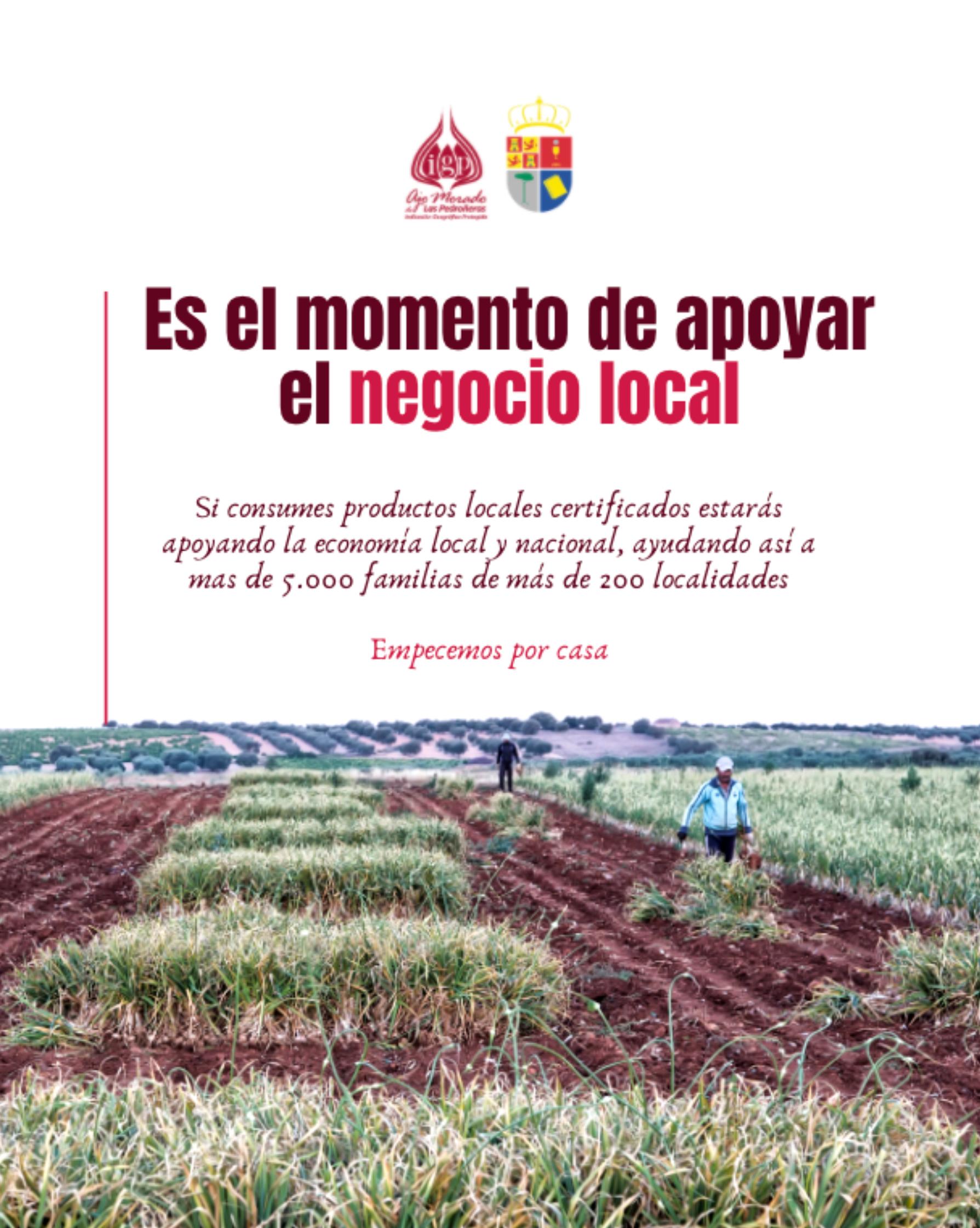 Imagen Ajo Morado de Las Pedroñeras
